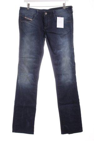 """Diesel Boot Cut Jeans """"Lowette"""" dunkelblau"""