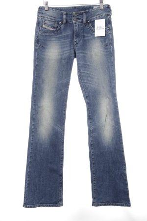 """Diesel Boot Cut Jeans """"Ronhar"""" blau"""