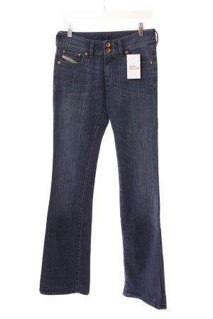 """Diesel Boot Cut Jeans """"Ronhar"""" dunkelblau"""