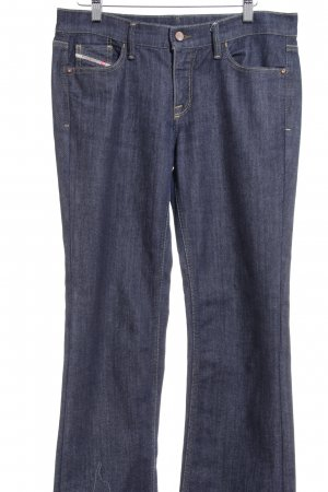 Diesel Boot Cut Jeans schwarz Casual-Look