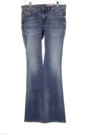 Diesel Jeans bootcut bleu acier style décontracté
