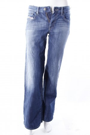 Diesel Bootcut Jeans blau
