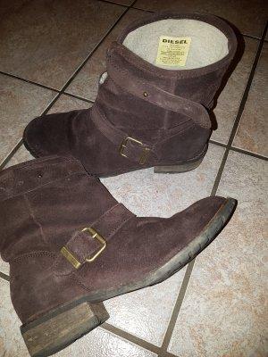 Diesel Boots brown