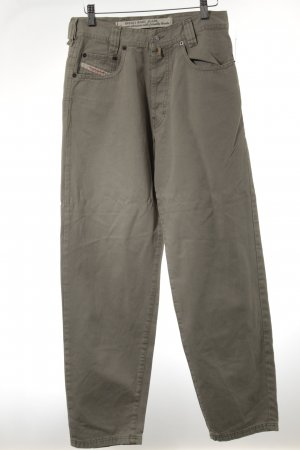 Diesel Boyfriend Trousers green grey boyfriend style