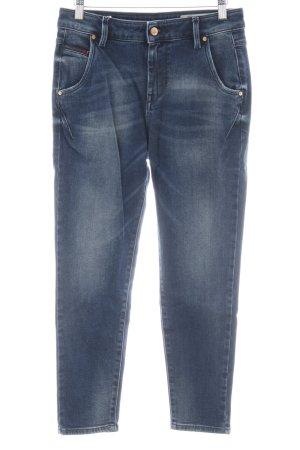 Diesel Boyfriend jeans blauw Jeans-look