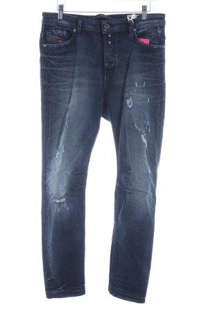 Diesel Jeans boyfriend blu scuro stile casual