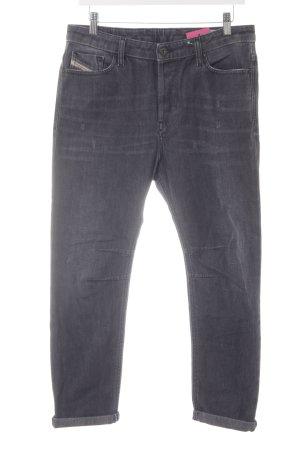 Diesel Jeans boyfriend gris foncé style boyfriend