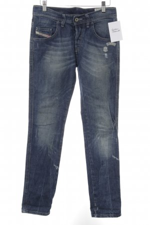 Diesel Boyfriend Jeans steel blue casual look