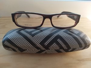Diesel Glasses black-bordeaux synthetic material