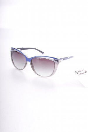 Diesel Butterfly Brille blau-silberfarben Transparenz-Optik
