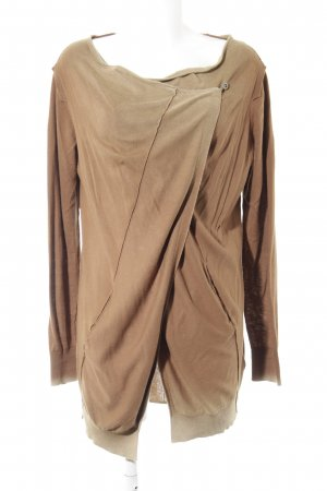 Diesel Cardigan braun-camel Farbverlauf Casual-Look
