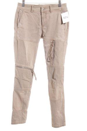 Diesel Pantalon cargo chameau style décontracté