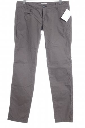 Diesel Chinohose dunkelgrau Business-Look