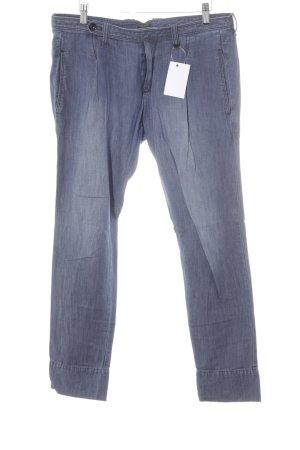 Diesel Pantalone chino blu acciaio stile casual