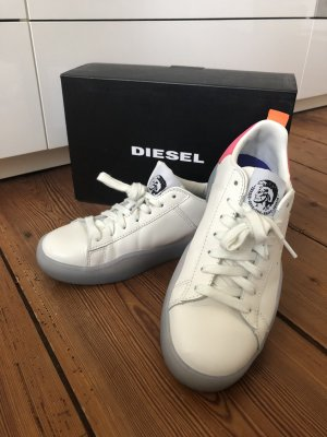 Diesel Lace-Up Sneaker multicolored leather