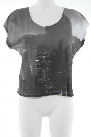 Diesel Cropped Shirt Allover-Druck Casual-Look