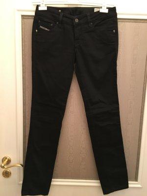 Diesel Cuddy Jeans Hose schwarz Basic 27x34