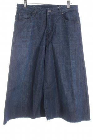 Diesel Culotte bleu foncé style décontracté