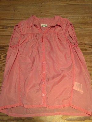 DIESEL Damen Bluse in korall-rosa aus Viskose, Gr L, wie *NEU*