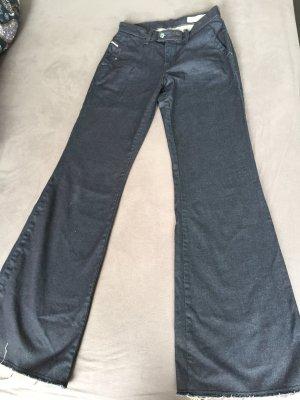 DIESEL Damen Jeans, Farbe Blau, Groesse W 25 L 32