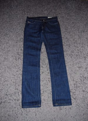 Diesel Damen Jeans Liv Wash 0R86C Stretch Black, Größe:27/32