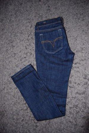 Diesel Damen Jeans Liv Wash 0R86C Stretch Black, Größe: 27/32