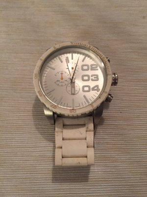 Diesel Analog Watch white-silver-colored