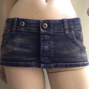 DIESEL Damengürtel Gr.L Gürtel Taillengürtel Minirock Jeans Bhelty Denim Neu