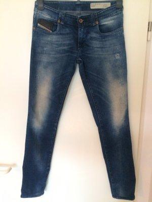 Diesel Low Rise Jeans blue