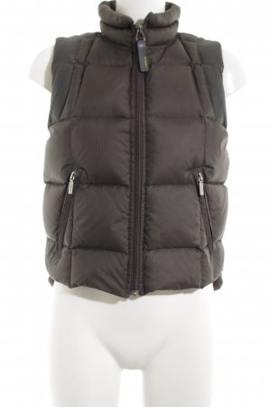 Diesel Down Vest silver-colored quilting pattern casual look