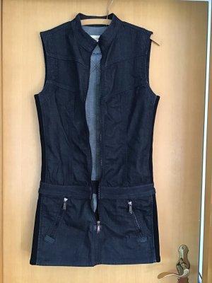 Diesel Denim Dress dark blue cotton