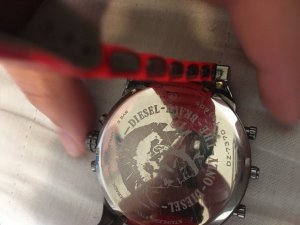 Diesel Self-Winding Watch red