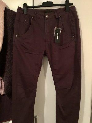 Diesel Boyfriend Jeans brown violet