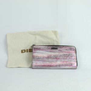 Diesel Portafogli argento-rosa Pelle