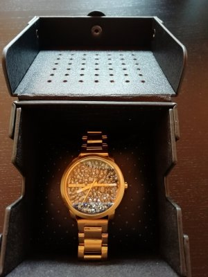 Diesel Montre analogue multicolore or