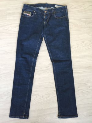 Diesel - Grupee Skinny Jeans dunkelblau