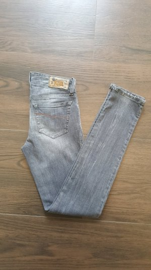 Diesel Grupee W26 L30 Jeans grau Skinny Stretch