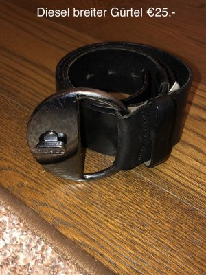 Diesel Cinturón de cadera negro
