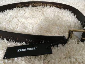 Diesel Gürtel Braun Leder NEU originaler Ledergürtel