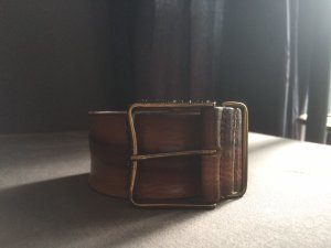 Diesel Cintura di pelle multicolore