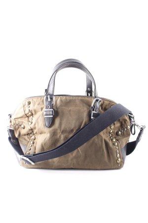 Diesel Handtasche schwarz-khaki Street-Fashion-Look