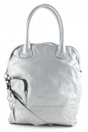 Diesel Handtasche silberfarben Casual-Look