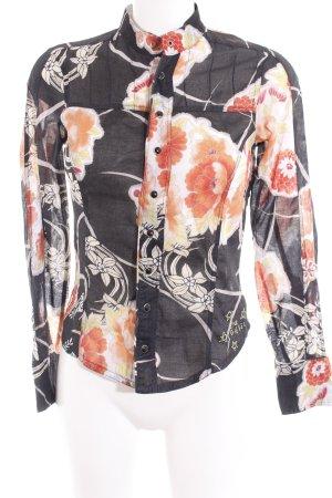 Diesel Hemd-Bluse florales Muster Casual-Look