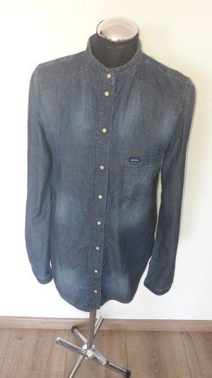 diesel hemd bluse gr. 36 jeansoptik