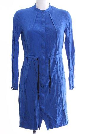 Diesel Vestido tipo blusón azul look casual