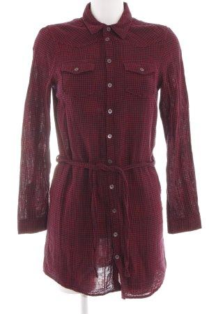 Diesel Shirtwaist dress red-black check pattern casual look