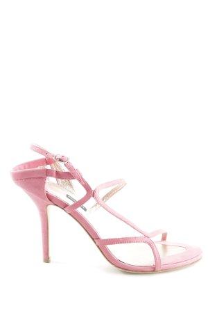 Diesel High Heel Sandaletten rosa Elegant