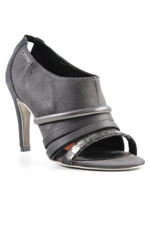 Diesel High Heels anthrazit-schwarz Elegant