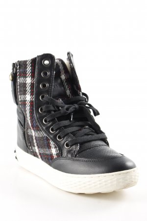Diesel High Top Sneaker Webmuster Kuschel-Optik