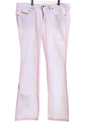 Diesel Jeans a vita alta rosa stile casual
